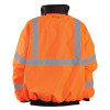 Occunomix Class 3 High Visibility Bomber Jacket LUX-ETJBJ Orange Back