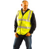 Occunomix FR Class 2 Hi Vis Yellow FR Safety Vest LUX-SSCFGFR Front In Use