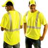 Occunomix Class 2 Hi Vis Spun Polyester T-Shirt LUX-SSETP2