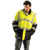Occunomix Class 3 Hi Vis Insulated Waterproof Cold Weather Parka LUX-TJCW In Use