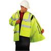 Occunomix Class 3 Hi Vis 5-in-1 Winter Coat LUX-TJFS Vest with Jacket