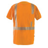 Occunomix Class 2 Hi Vis Short Sleeve T Shirt with Segmented Tape LUX-TSSP2B Orange Front