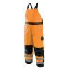 Occunomix Class E Hi Vis Cold Weather Bib Pants LUX-WBIB Orange Front