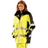 Occunomix Class 3 Hi Vis Speed Collection Rain Jacket SP-BRJ Side