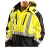 Occunomix Class 3 Cold Weather Hi Vis Speed Collection Coveralls SP-CVL Front Close Up