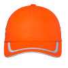 Port Authority Enhanced Visibility Cap with Black Bills C836-HVO