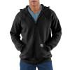 Carhartt Hooded Zipper Front Sweatshirt Midweight K122 Black