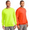 Port and Company Enhanced Visibility Crewneck Sweatshirt PC90