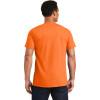 Gildan Enhanced Visibility Ultra Cotton T-Shirt 2000 Safety Orange/Back