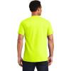 Gildan Enhanced Visibility Ultra Cotton T-Shirt 2000 Safety Green/Front