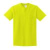 Gildan Enhanced Visibility Cotton T-Shirt with Pocket 2300
