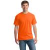 Gildan Non-ANSI Hi Vis Heavy Cotton T-Shirt 5000 Safety Orange/Front