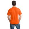 Gildan Non-ANSI Hi Vis Heavy Cotton T-Shirt 5000 Safety Orange/Back