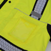 GSS Class 3 Hi Vis Premium ONYX Lime 3-in-1 Winter Parka Jacket with Teflon Protector 8505 Cell Pocket