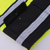 GSS Class 3 Hi Vis Premium ONYX Lime 3-in-1 Winter Parka Jacket with Teflon Protector 8505 Segment Tape