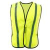GSS Non-ANSI Hi Vis Lime Vest with Elastic 3001 Front