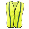 GSS Non-ANSI Hi Vis Lime Vest with Elastic 3001 Front