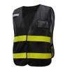 GSS Non-ANSI Enhanced Visibility Black Mesh Vest 3115 Right Side