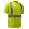 GSS Class 2 Hi Vis Yellow Moisture Wicking T-Shirt 5001 Right Side