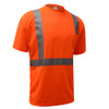 GSS Class 2 Hi Vis Orange Class 2 Short Sleeve T-Shirt 5002 Right Side