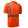 GSS Class 2 Hi Vis Orange Class 2 Short Sleeve T-Shirt 5002 Right Side
