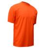 GSS Non-ANSI Hi Vis Orange Moisture Wicking T-Shirt 5502 Right Side