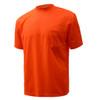 GSS Non-ANSI Hi Vis Orange Moisture Wicking T-Shirt 5502 Left Side