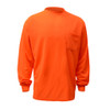 GSS Non-ANSI Hi Vis Orange Long Sleeve T-Shirt 5504 Front