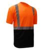 GSS Class 2 Hi Vis Orange Black Bottom T-Shirt 5112 Right Side