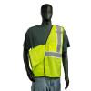 Alpha Workwear Class 2 Hi Vis Glow in the Dark Breakaway Vest A203 Break-Away