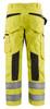 Blaklader Class E Hi Vis Yellow Black Bottom Rip Stop Pants 169918313399 Back
