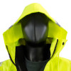 Alpha Workwear Class 3 Hi Vis Glow in Dark Bomber Jacket A262 Hood