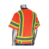 PIP Class 3 Hi Vis Two-Tone 11 Pocket Mesh Surveyors Vest 303-0500M