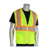 PIP Class 2 Hi Vis Two-Tone 11 Pocket Mesh Safety Vest 302-MAPM