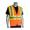 PIP Class 2 Hi Vis Two-Tone 6 Pocket Mesh Safety Vest 302-MVZP