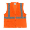 PIP Class 2 Hi Vis 2 Pocket Zipper Mesh Vest 302-0702Z