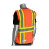 PIP Class 2 Hi Vis Two-Tone 11 Pocket Solid Surveyors Vest 302-MAP