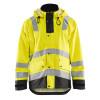 Blaklader Class 3 Hi Vis Yellow Rain Jacket 431220033399 Front