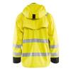 Blaklader Class 3 Hi Vis Yellow Rain Jacket 431220033399 Back