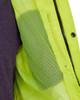 Utility Pro Class 3 Hi Vis Yellow Premium Rain Jacket with Teflon Protector UHVR642 Cell Pocket