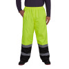 Utility Pro Non-ANSI Hi Vis Yellow Waterproof Pants with Teflon Protector UHV452P Front