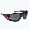 Radians Box of 12 Obliterator iQuity Smoke Anti-Fog Foam Lined Safety Eyewear OBL1-23