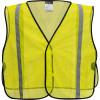 PortWest Non ANSI Yellow Mesh Vest US390 Front
