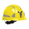 PIP Evolution Deluxe 6151 Standard Brim Mining Hard Hat with Reflective Kit 280-EV6151MCR2 Yellow