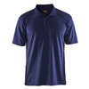 Blaklader Moisture Wicking Short Sleeve Navy Blue Polo Shirt with UPF 40 Protection 345110518900 Front