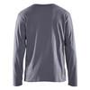 Blaklader Grey Long Sleeve T-Shirt 355910429400 Back