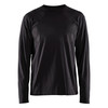 Blaklader Black Long Sleeve T-Shirt 355910429900 Front