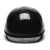 Box of 16 Pyramex Ridgeline 4-Point Glide Lock Bump Caps HP40011 Black Back
