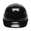 Box of 16 Pyramex Ridgeline 4-Point Glide Lock Bump Caps HP40011 Black Front