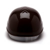 Box of 16 Pyramex Ridgeline 4-Point Glide Lock Bump Caps HP40015 Brown Back